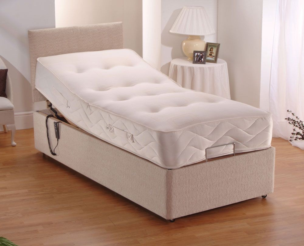 Pocket Adjustable Single Divan Bed