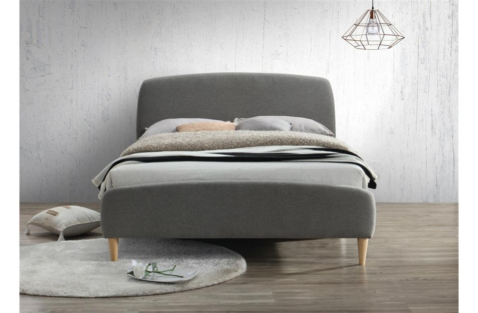 Qube Soft Grey Bed Frame