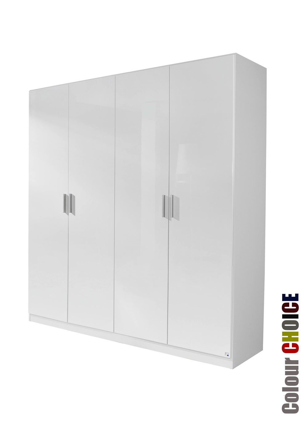 Rauch Cello 4 Door Wardrobe White