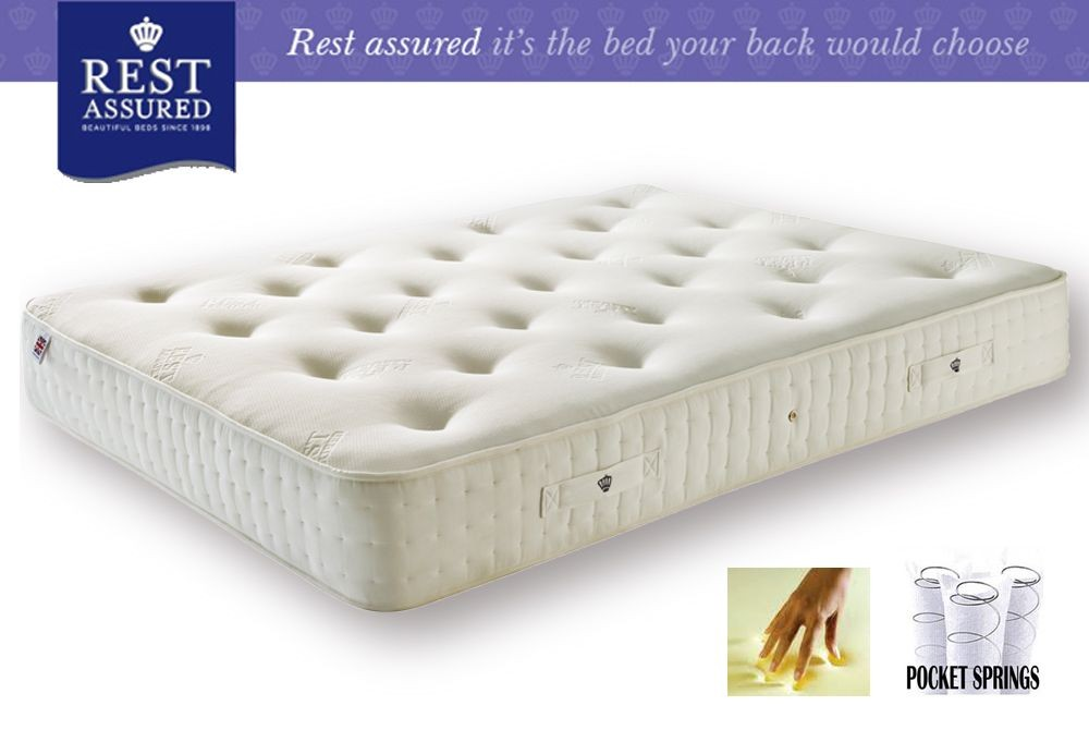 Rest Assured Hartwood 800 Pocket Memory Super Kingsize Mattress