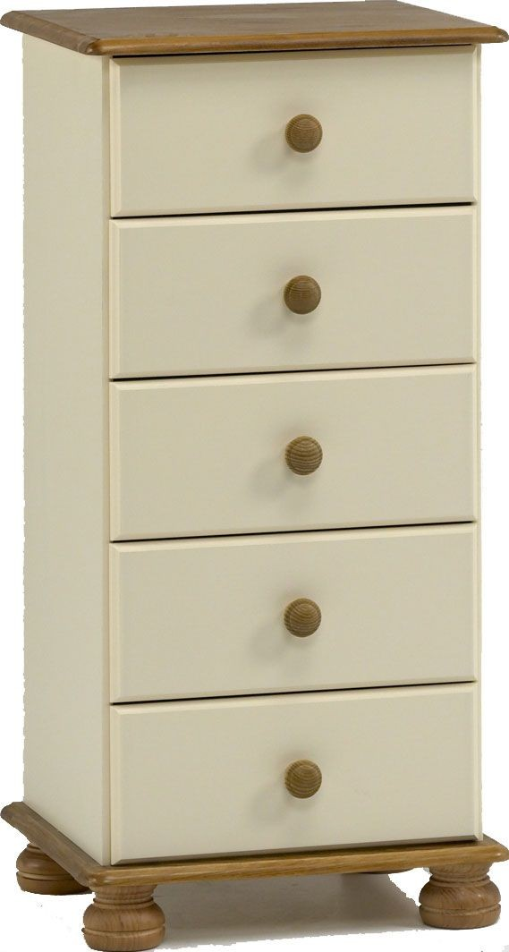 Richmond Cream 5 Drawer Chest