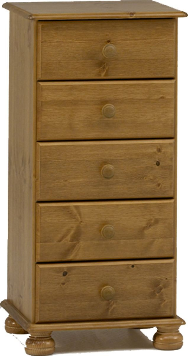 Richmond Pine 5 Drawer Chest