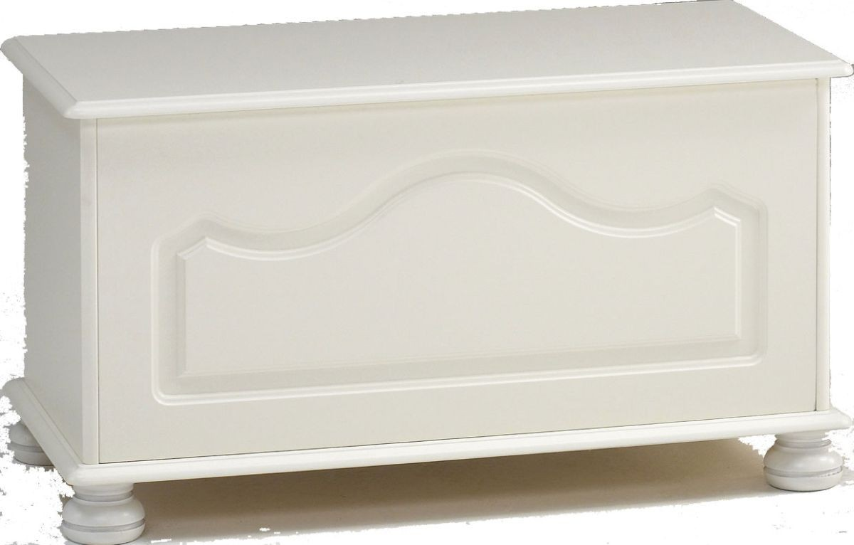 Richmond White Blanket Box