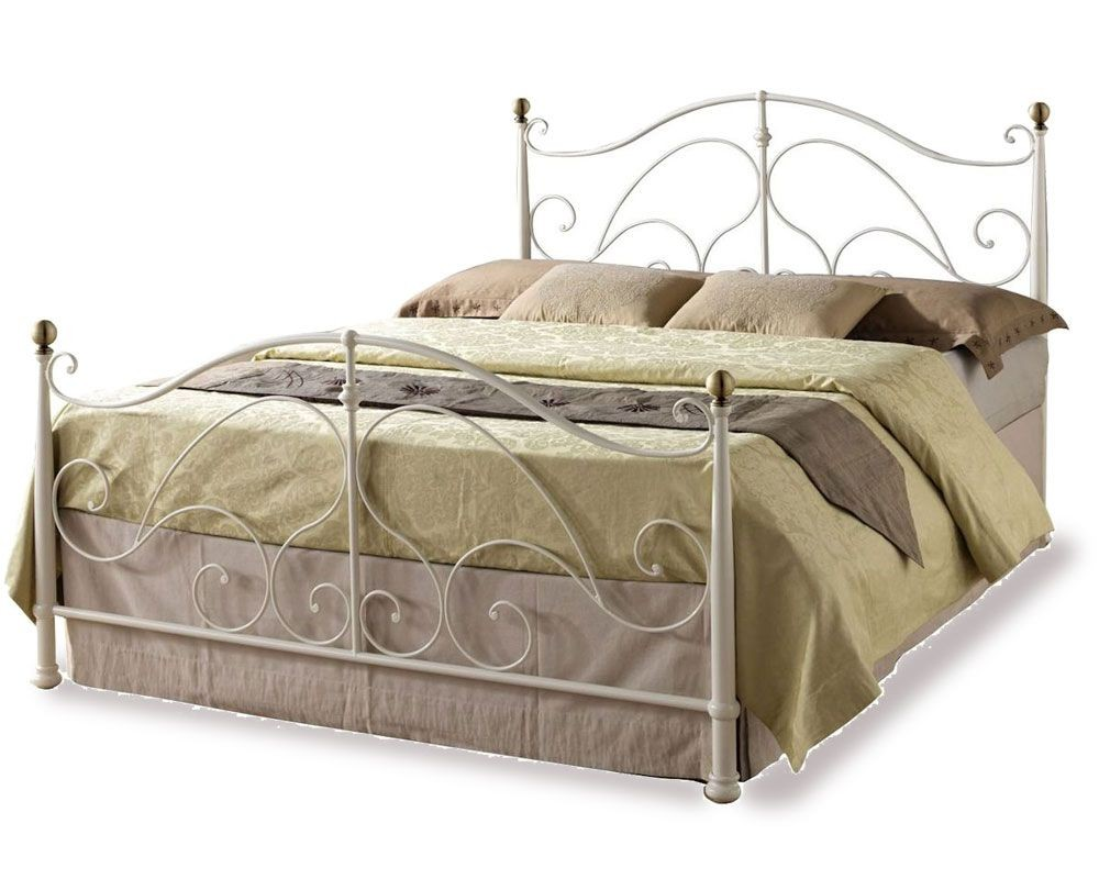 Romano Cream Kingsize Bed Frame