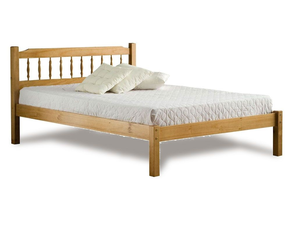 Santos Double Pine Bed Frame