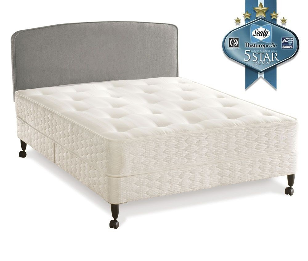 Sealy Essentials Firm Kingsize Leg Bed