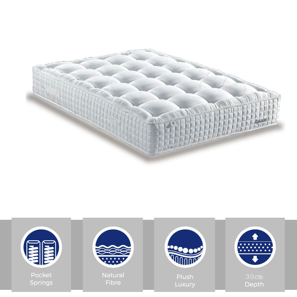 Signature Premier Pocket 2000 Super Kingsize Mattress