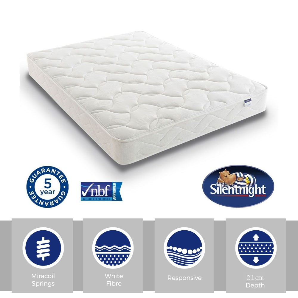 Silentnight Essentials Easy Care Single Mattress