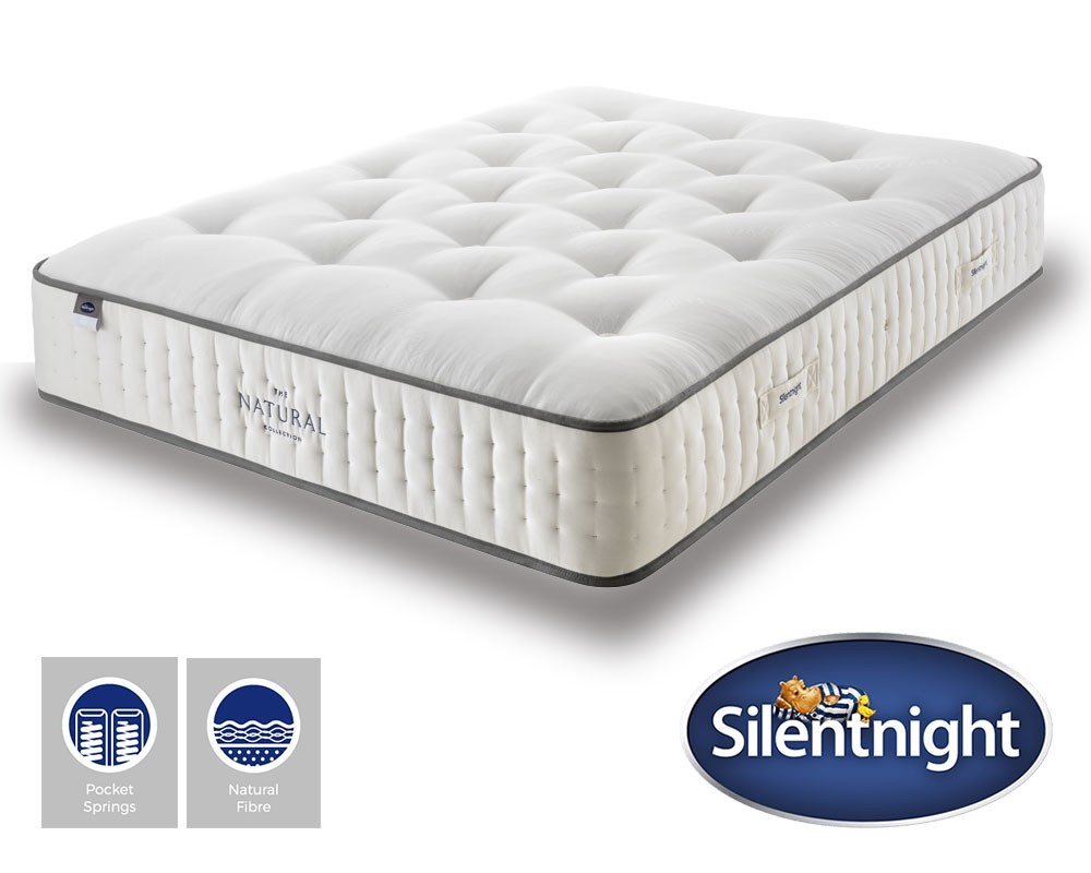 Silentnight Summit 2000 Pocket Naturals Mattress