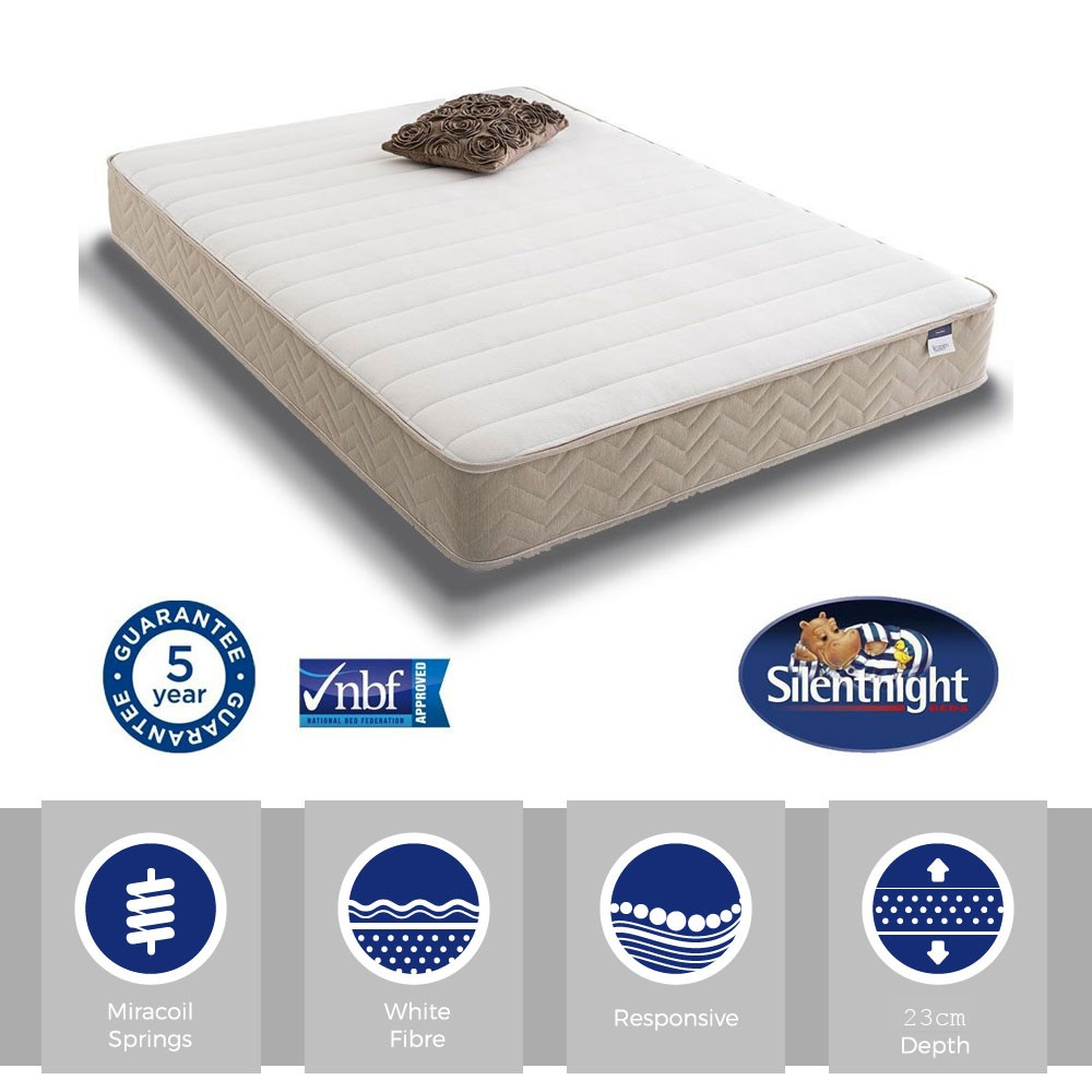 Silentnight Select Memory Three Quarter Mattress