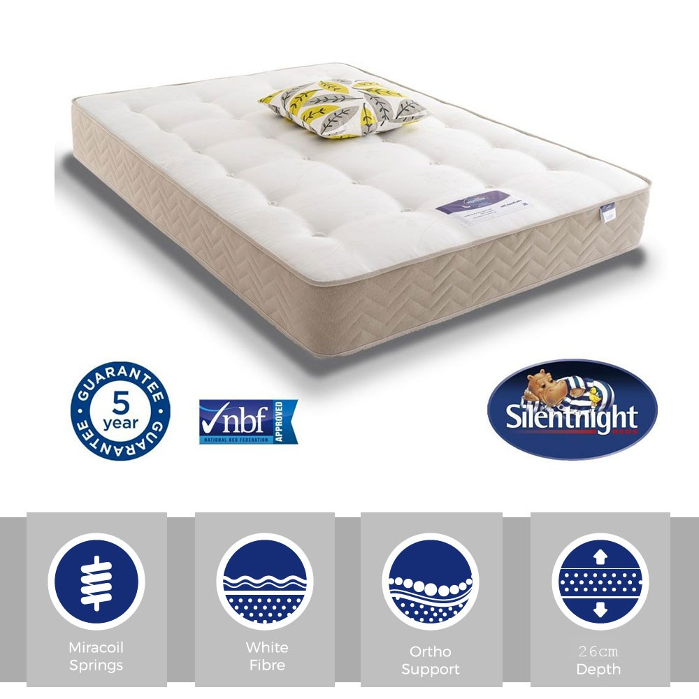 Silentnight Select Ortho Three Quarter Mattress