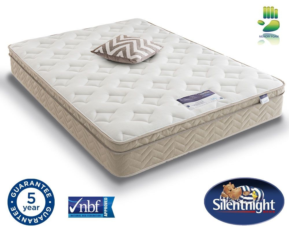 Silentnight Memory Cushion Top Super Kingsize Mattress