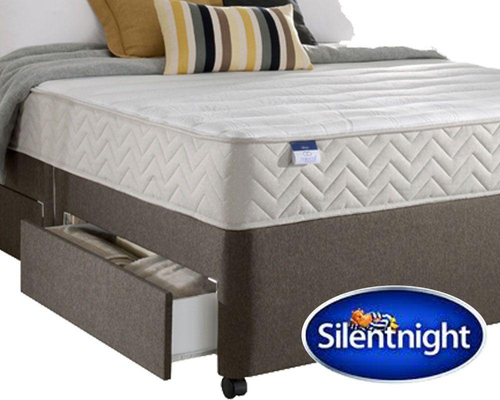 Silentnight Rio Single 2 Drawer Divan Bed