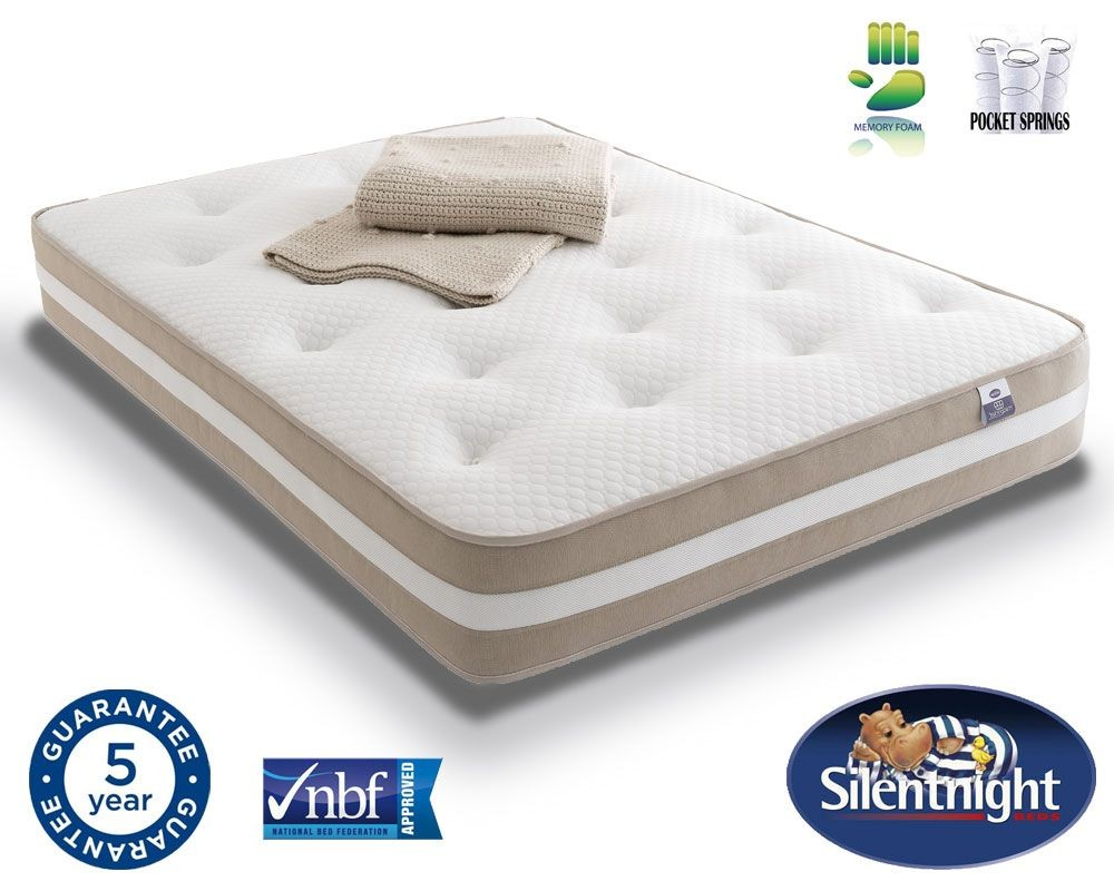 Silentnight Select Pocket 1000 Memory Kingsize Mattress
