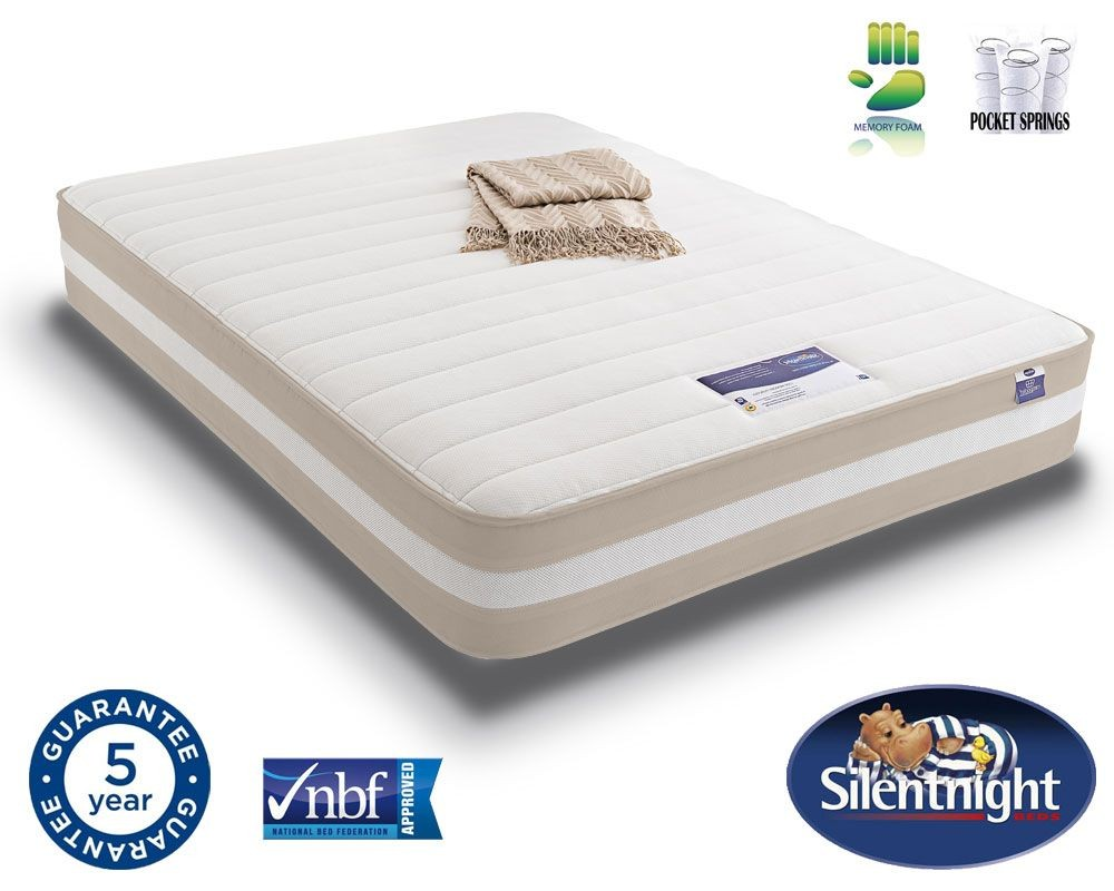 Silentnight Select 1200 Pocket Memory Super Kingsize Mattress