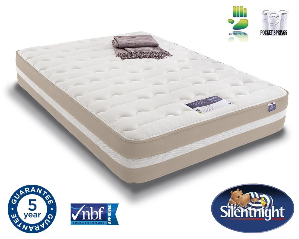 Silentnight Select 2000 Pocket Memory Kingsize Mattress