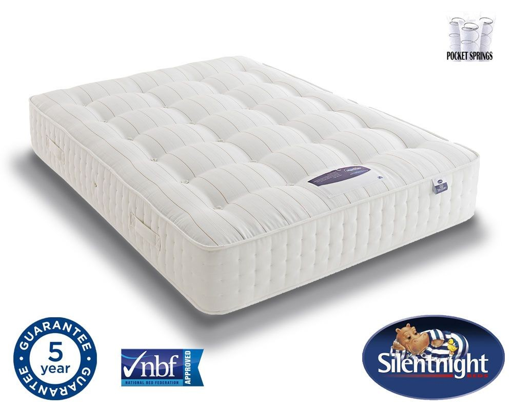 Silentnight Select 1350 Pocket Naturals Super Kingsize Mattress