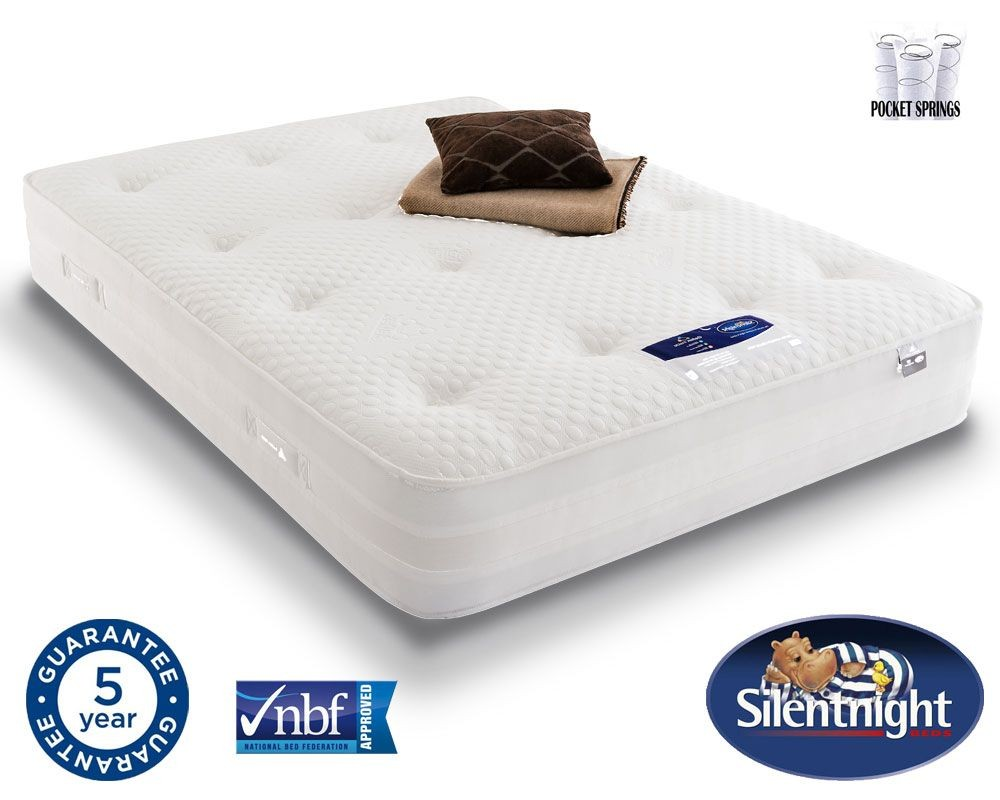 Silentnight Select 1000 Pocket Geltex Super Kingsize Mattress