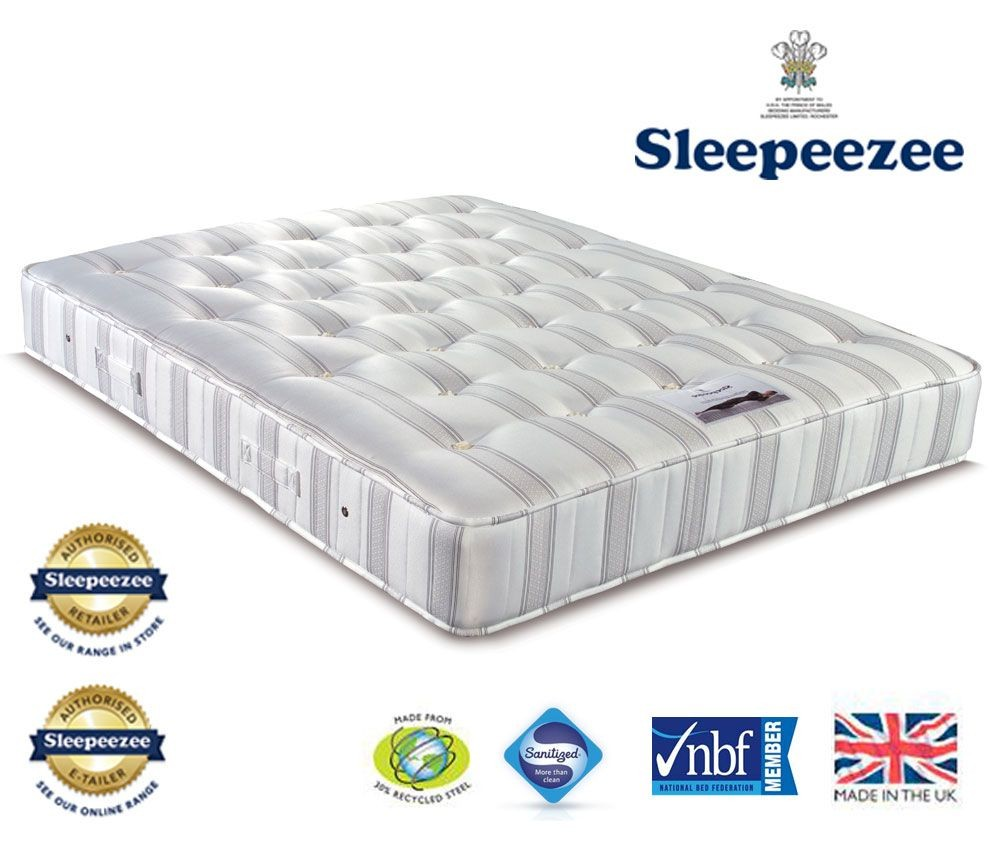 Sleepeezee Diamond 2000 Super Kingsize Mattress
