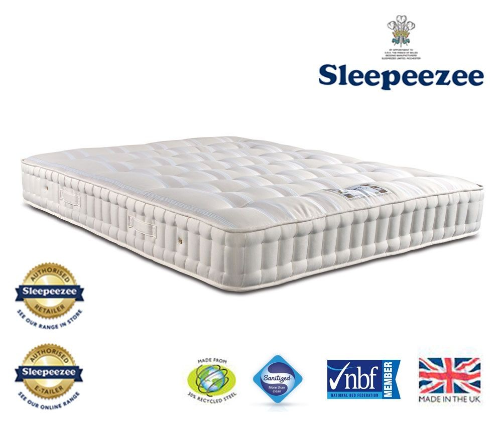 Sleepeezee Naturelle 1400 Super Kingsize Mattress