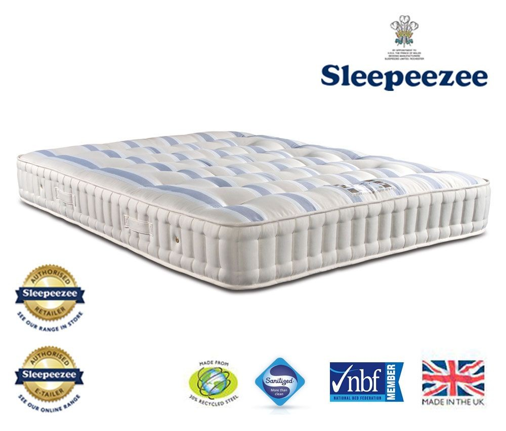 Sleepeezee Naturelle 1200 Super Kingsize Mattress