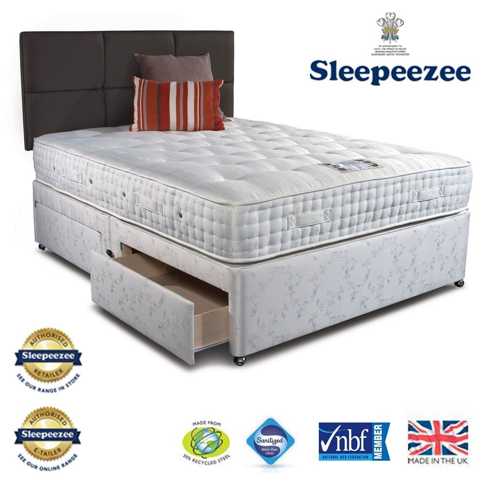 Sleepeezee Westminster 3000 Double Divan Bed