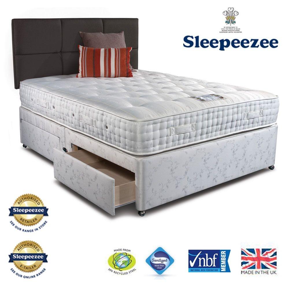 Sleepeezee Westminster 3000 Super Kingsize Divan Bed