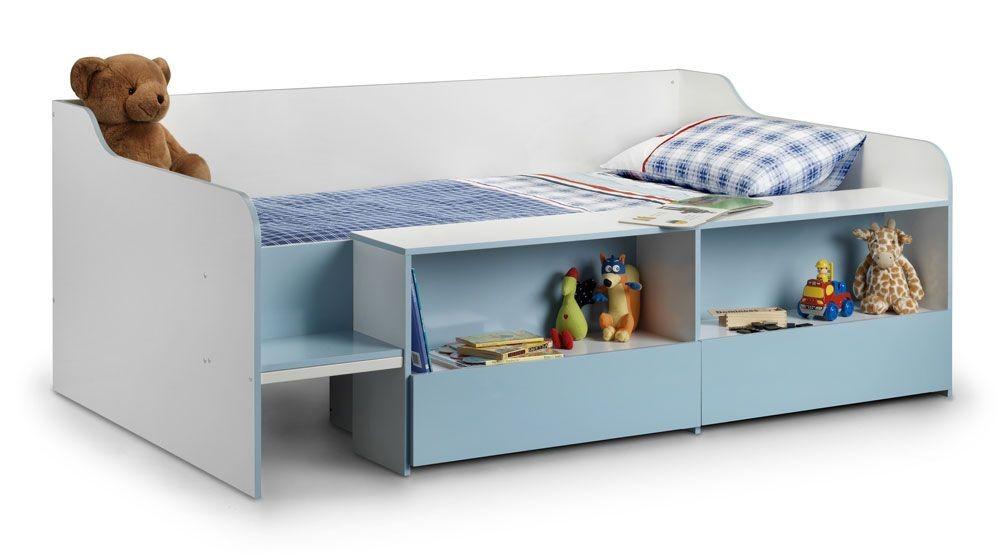 Starburst Blue Cabin Bed Low Sleeper
