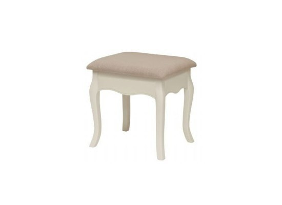 Chantelle Antique White Stool