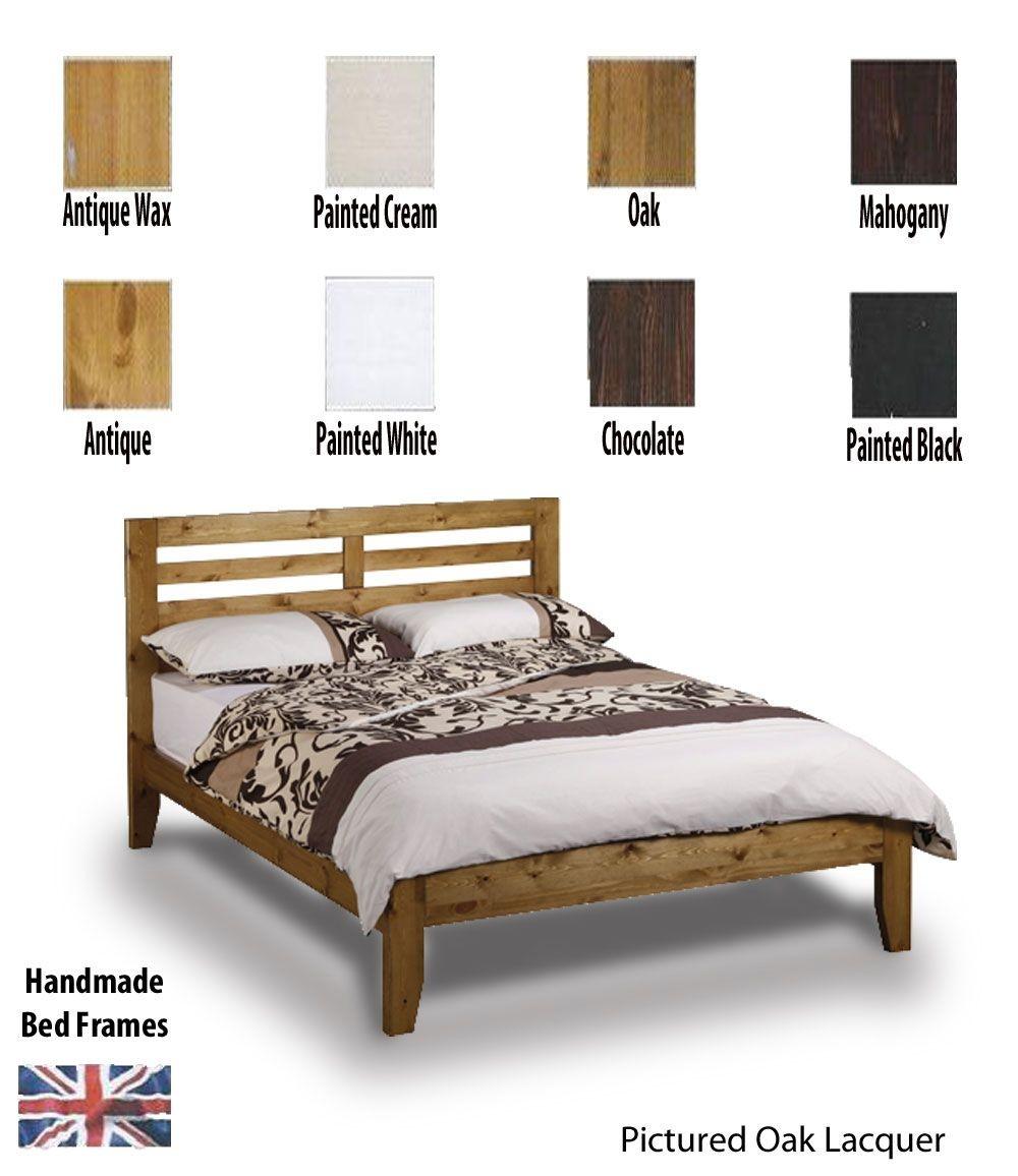 Torrent Handcrafted Kingsize Bed Frame