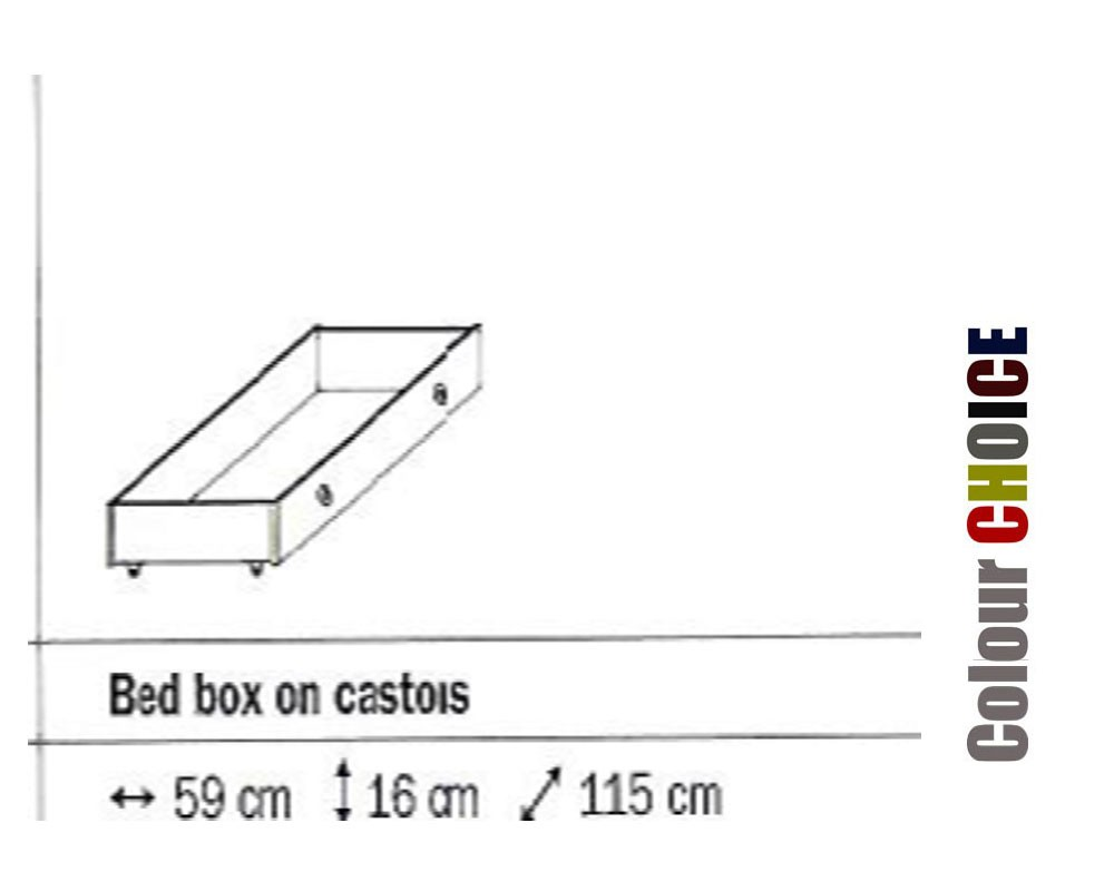 Rauch Celina Bed Box On Castors