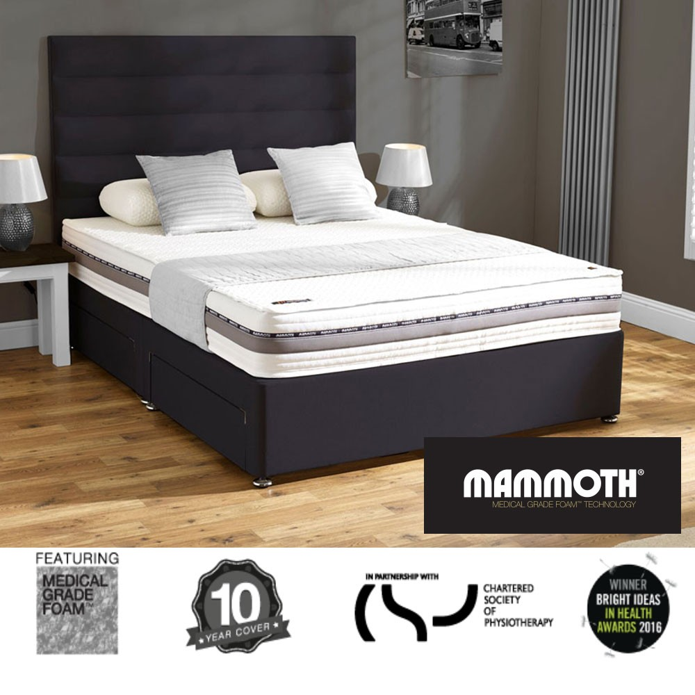 Mammoth Performance 240 Divan Bed