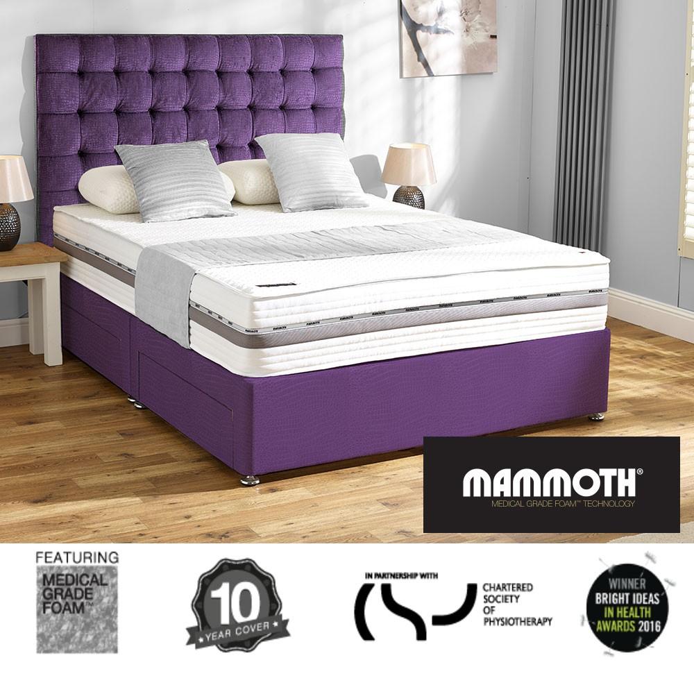 Mammoth Performance Supersoft 270 Super Kingsize Divan Bed