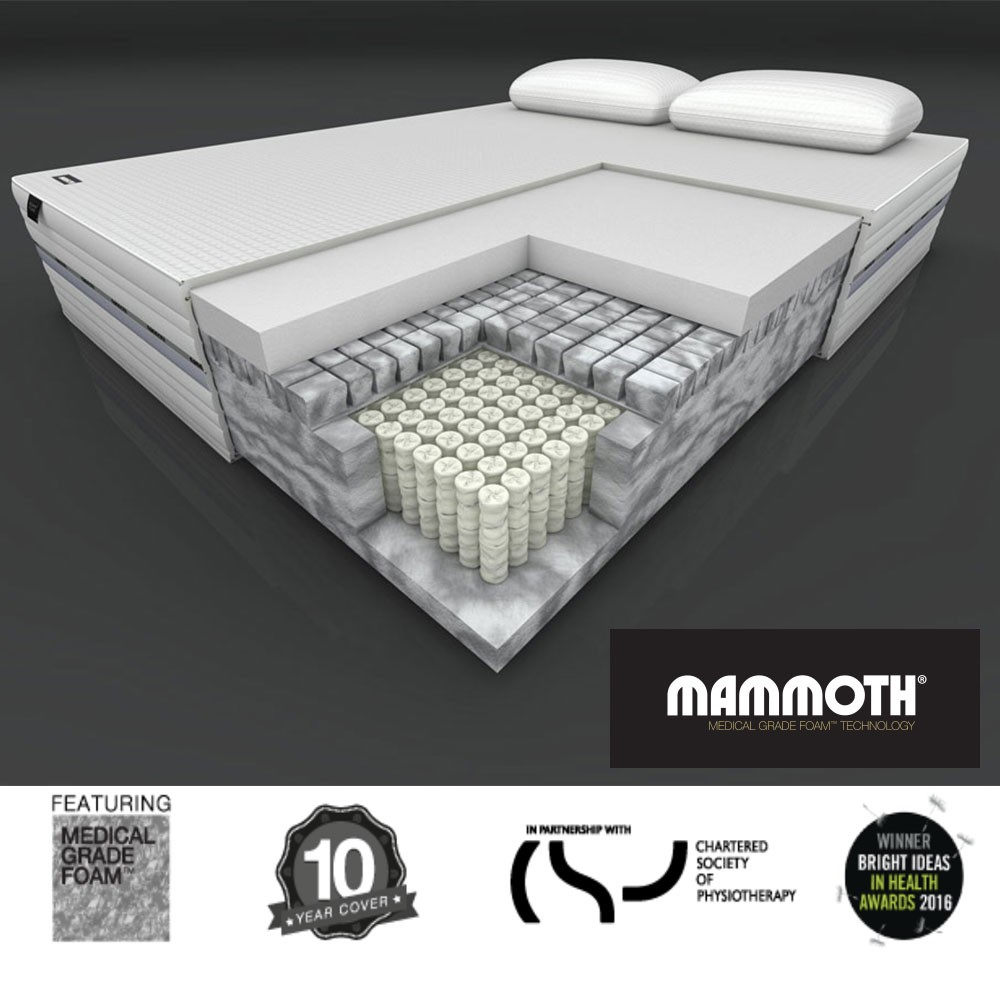 Mammoth Performance Pocket 3000 Mattress