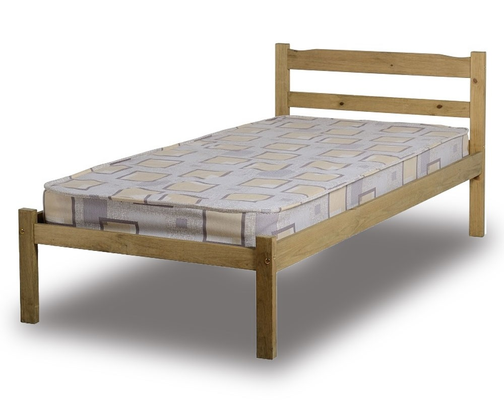 Ranch Pine Single Bed Frame