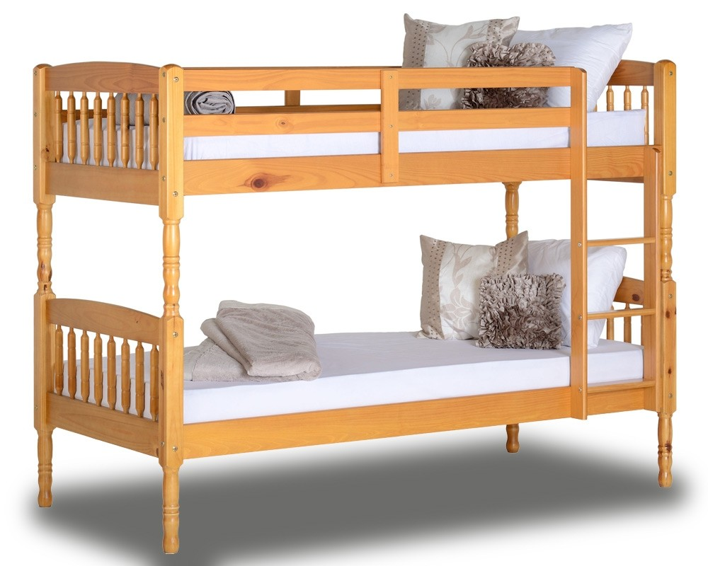 Alban Antique Pine Bunk Bed