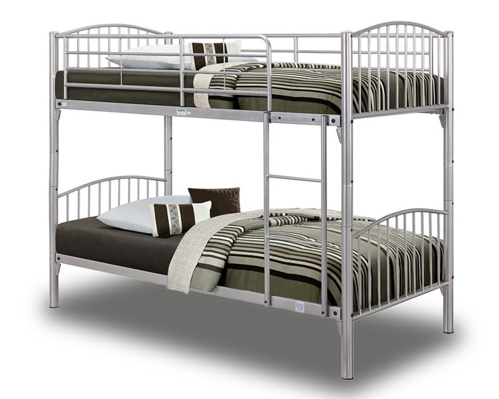 Corfu Silver Bunk Bed