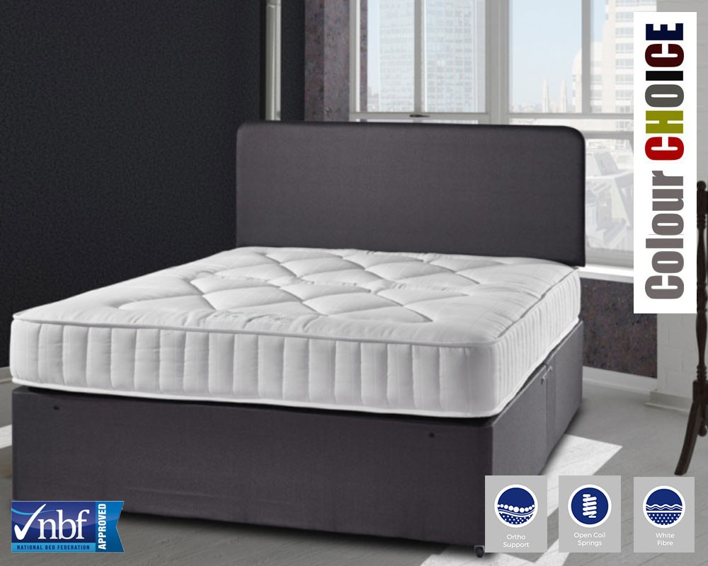 Cheltenham Deluxe Three Quarter Divan Bed