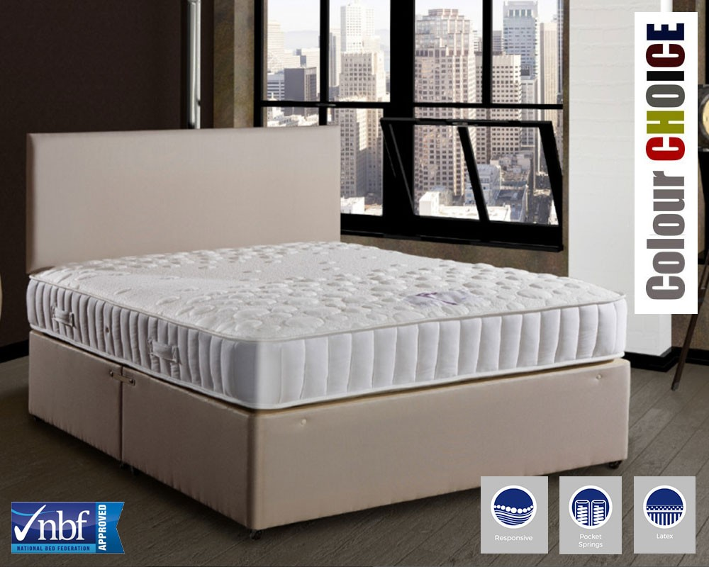 Leominster 1500 Latex Deluxe Divan Bed