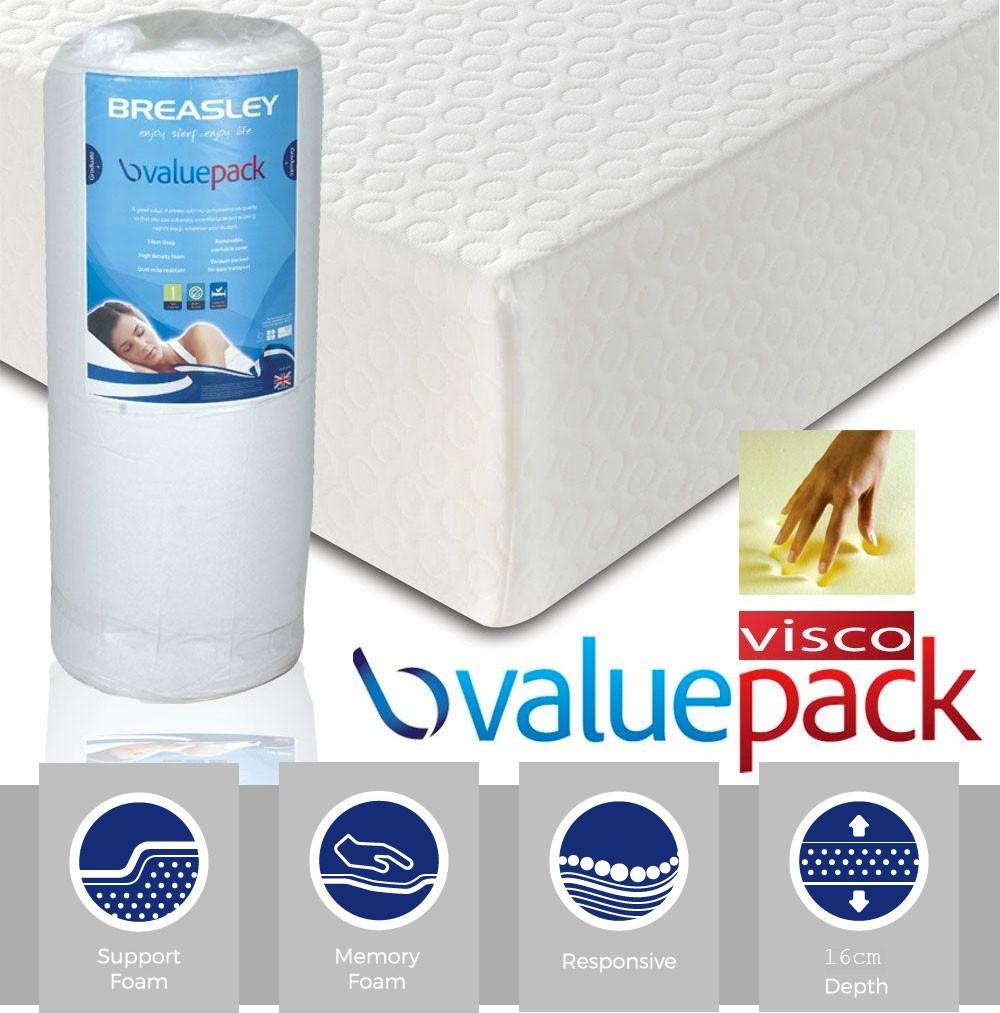 ValuePac 250 Super Kingsize Memory Foam Mattress