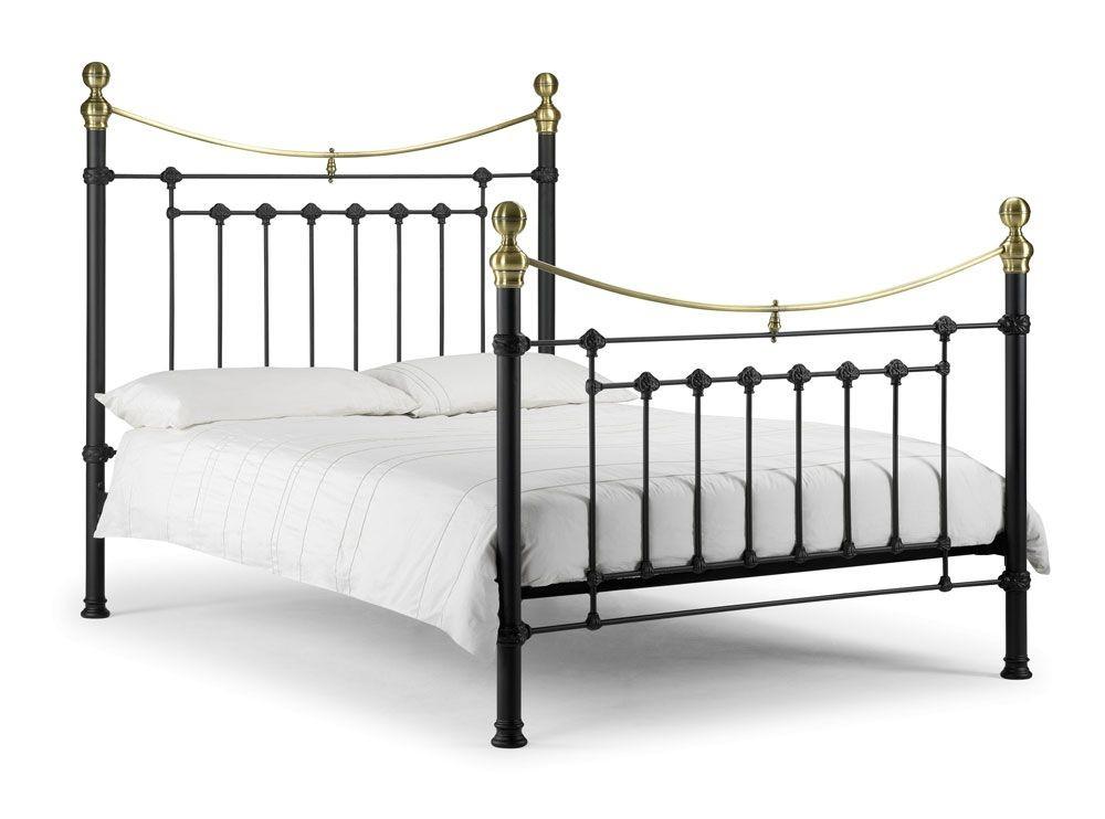 Vicky Black Double Bed Frame
