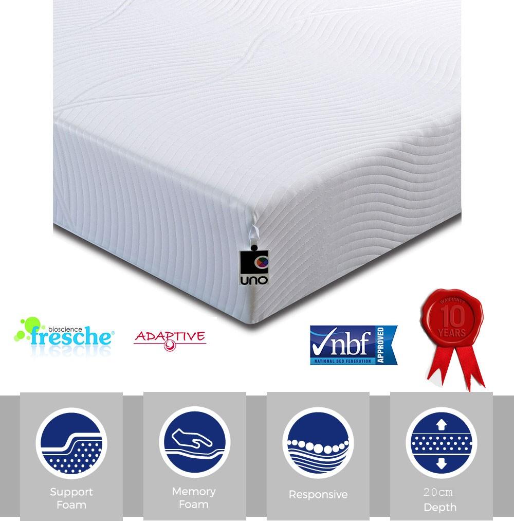 Vital 300 Memory Foam Mattress