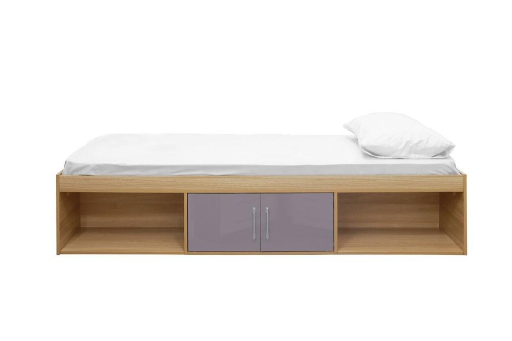 Daytona Grey Storage Bed