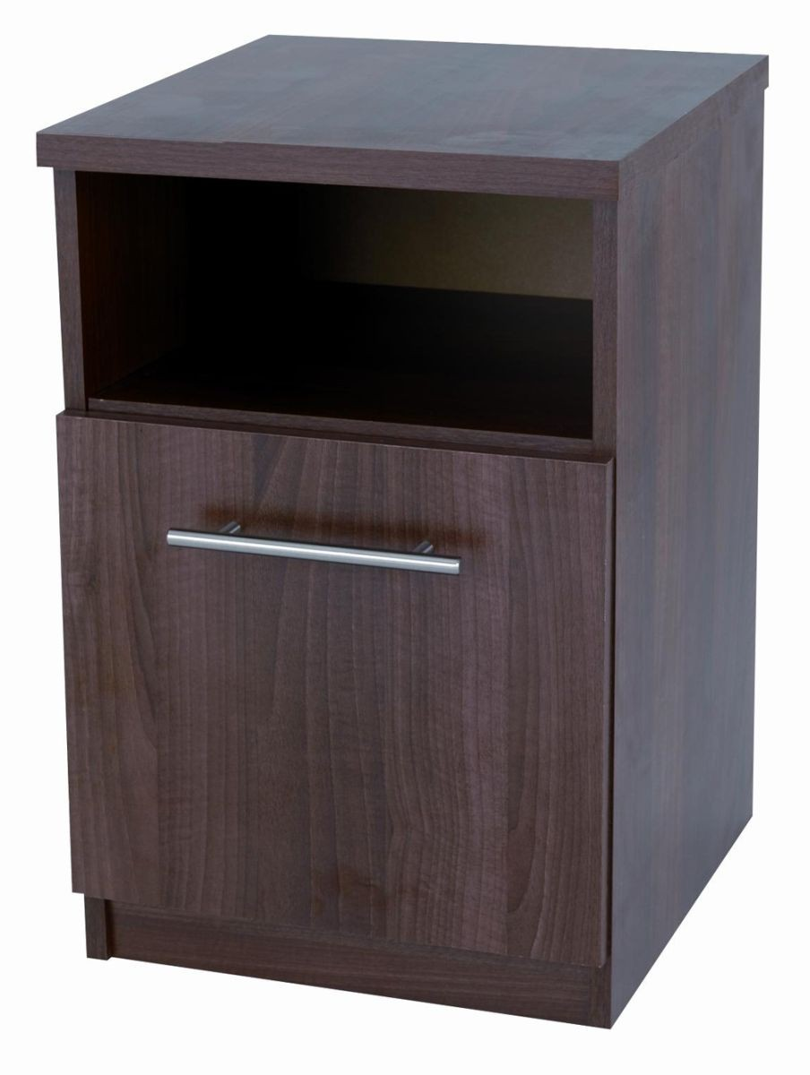 Walnut Mode Bedside Locker