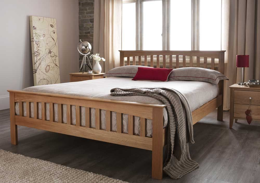 Windsor Classic Oak Super Kingsize Bed Frame
