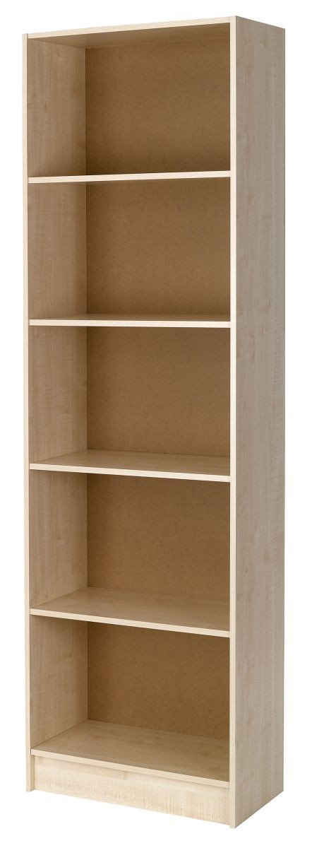 Woodgrain Tall Bookcase