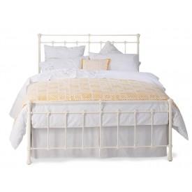 Edwardian Ivory Double Bed Frame