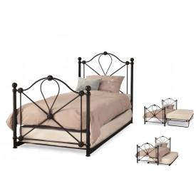 Lyon Black Guest Bed Frame