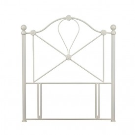 Lyon Ivory Single Headboard
