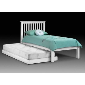 Barcelona White Guest Bed Frame